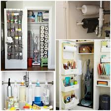 cleaning closet 16 clever ways to organize cleaning supplies