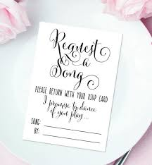 wedding song request cards best 25 wedding song request ideas on wedding rsvp