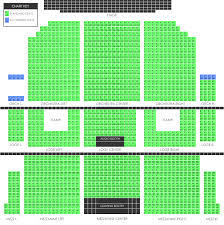 bell center floor plan seating charts union county performing arts center