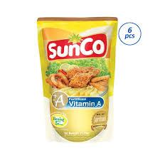 Minyak Filma 2 Liter jual sunco pouch minyak goreng 2 l x 6 pcs harga