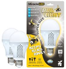 best bug light bulbs miracle led 604734 7 watt super bug light bug free porch and patio
