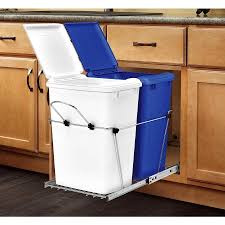 built in trash can cabinet spectacular kitchen trash size ideas built in trash can cabinet