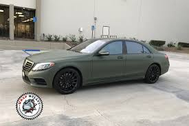 green mercedes benz mercedes benz wrapped in matte military green wrap bullys