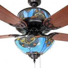 Ceiling Fans Light Shades Stained Glass Ceiling Fan Light Shades Foter