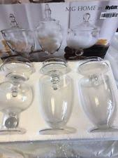 clear glass kitchen canister sets glass kitchen canister sets ebay