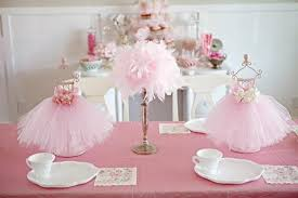 ballerina baby shower theme gorgeous looked in soft pink theme with small ballerina dresses