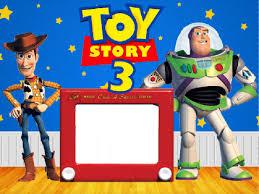 marco foto toy story 3 plantillas infantiles