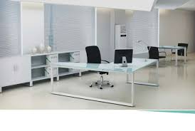 glass top office desk glass top executive desks equip office furniture