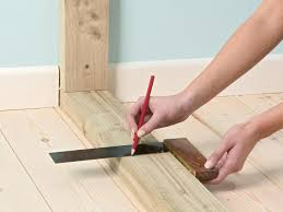 Laminate Flooring At Doorways How To Build A Non Bearing Stud Wall How Tos Diy