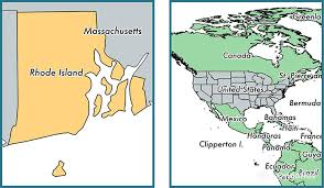 map usa rhode island where is rhode island state where is rhode island located in