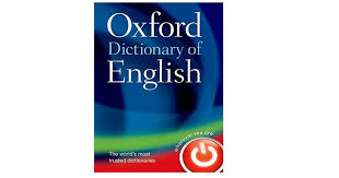 Oxford Dictionary New Oxford Dictionary Entries