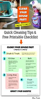 how to clean house fast clean your house fast quick house cleaning tips