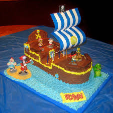 pirate ship cake cobo bucky the pirate ship cake jake and the neverland