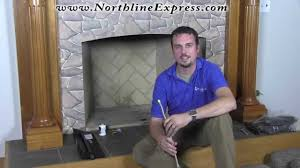 how to install a match lit vented gas log set with ben youtube