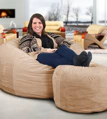 fluffiest jumbo bean bag chairs trends4us com