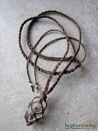 crystal rope necklace images A healing crystal you can bring with you everywhere this hemp jpg