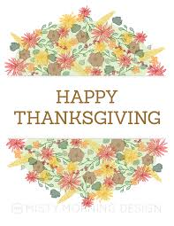 thanksgiving posters free morning design