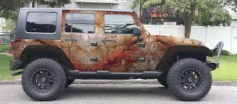maroon jeep home