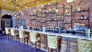contemporary restaurant and pub decor by dv8 designs bar design
