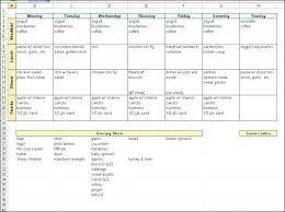 printable blank meal planner blank meal planner template