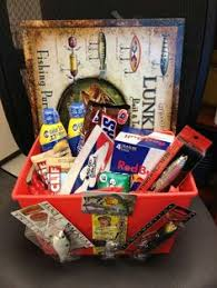 Fishing Gift Basket 32 Homemade Gift Basket Ideas For Men Fishing Lures Favorite