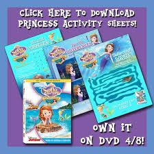 princess activity sheets clip