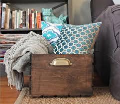 Desk Blanket Blanket Storage Houzz Living Room 15 Creative Pillow And Ideas