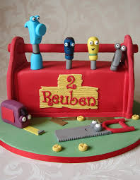 handy manny toolbox cake cakes and cupcakes for kids birthday