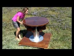 hstead fletcher capstan table rising and furling table