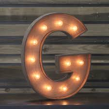 edison marquee letter