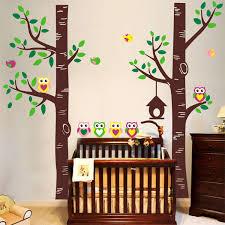 Ocean Wall Decals For Nursery by Baby Nursery Amazing Brown Owl Wall Decals For Nursery With Dark