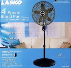 4 Speed Oscillating Adjustable 18 Fan With Remote Control