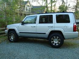 jeep commander lifted wk and xk wheel and tire combination thread