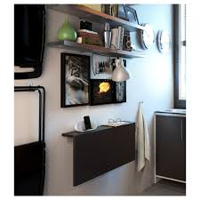 Wall Mount Laptop Desk by Ikea Wall Mounted Desk Bjursta Drop Leaf Table For Amusing Home