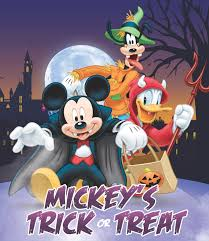 mickey mouse and friends disney halloween trick or treat wallpaper