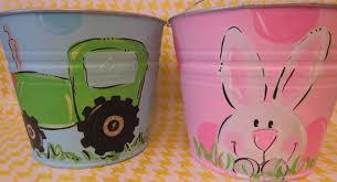 painted easter buckets painted easter easter easter buckets