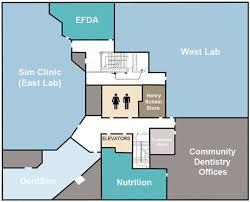 Dental Clinic Floor Plan Building Map Of Dental Medicine Case Western Reserve