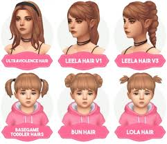 childs hairstyles sims 4 toddler hairstyles sims 4 hairstyles wiki