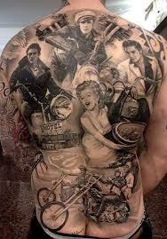 100 cool tattoos for your back tattoozza