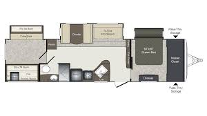 Keystone Floor Plans by 2017 Keystone Laredo 333bh Model