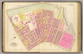 Washington Dc Ward Map by 6 Ward 8 David Rumsey Historical Map Collection