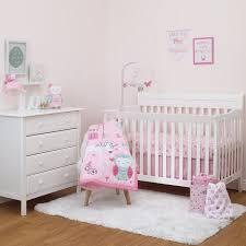 Child Crib Bed Child Of Mine Princess 3pc Crib Bedding Set Walmart