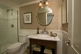 Wainscoting Over Bathroom Tile 30 Ideas For Using Wainscoting Subway Tile In A Bathroom