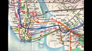 Ny Mta Map History Of Mta Subway Youtube