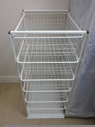 furniture closetmaid wire basket ikea storage draws ikea antonius