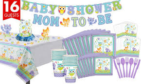 baby shower kits woodland baby shower party supplies party city