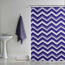Gray And Yellow Chevron Shower Curtain by Navy And White Chevron Curtains Navy Chevron Curtains