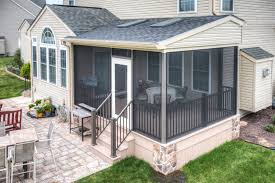 screened porch project in gettysburg pa stump u0027s decks u0026 porches