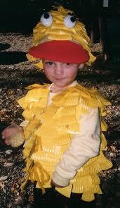 Duck Halloween Costume Homemade Halloween Costumes Recycle Bin Duck Costumes