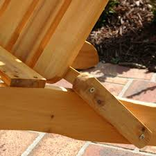 Cedar Adirondack Chairs Exclusive Folding Wood Adirondack Chair Honey Gold Stained
